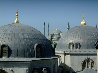 The Blue Mosque from Aya Sofya