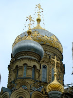 St Petersburg church dome