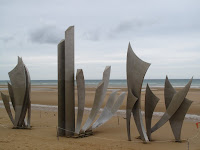 'Les Braves' sculpture, Omaha Beach