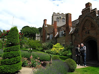 Gardens at Ewelme Almshouses