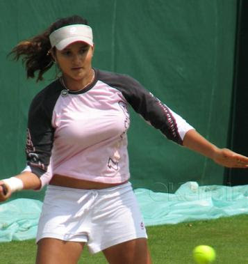 sania mirza latest match