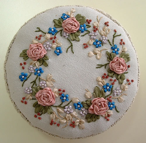 Free Ribbon Embroidery Patterns Patterns Gallery
