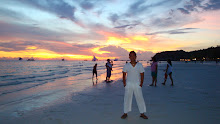 Beautiful Sunset of Boracay