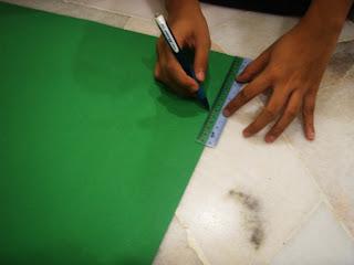 Download Dengan menggunakan pensel dan pembaris, buatkan garisan pada ...