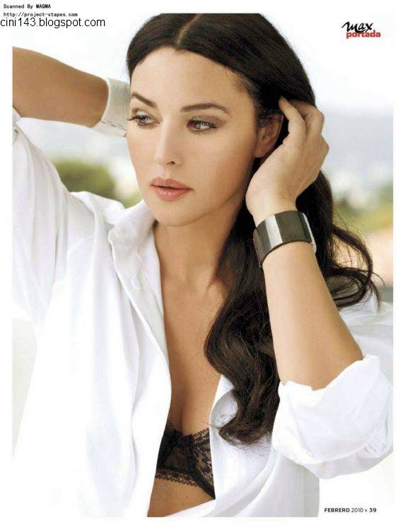 Fresh Look Monica Bellucci Photoshoot