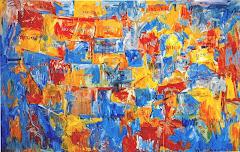 "Jasper Johns, ""Map"" (1961)"