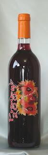 プリムール フレンチ・ヌーヴォー ヴァン・ド・ペイ・デュ・ガール ルージュ 2007 ボトル ラベル