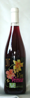ヴァン・ヌーヴォー ヴァン・ド・ペイ・デュ・ガール ルージュ ヴィニュロン・ド・カルナス 2007 ボトル ラベル