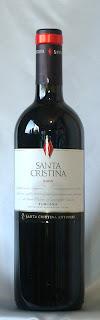 サンタ・クリスティーナ 2005 ボトル ラベル