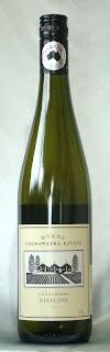 ウインズ クナワラ エステート リースリング 2005 ボトル ラベル