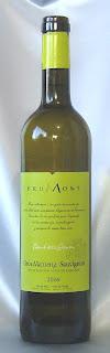 アラン ブリュモン ヴァン・ド・ペイ・ド・コート・ド・ガスコーニュ ブラン 2006 ボトル ラベル