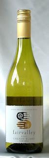 フェアヴァレー シュナン・ブラン 2007 ボトル ラベル