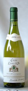 キュヴェ・リオン・ドール(白)ヴァン・ド・ペイ・デュ・ガール 2006 ボトル ラベル