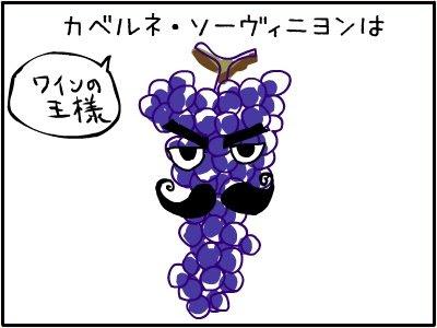 ワインの王様 カベルネ・ソーヴィニヨンは