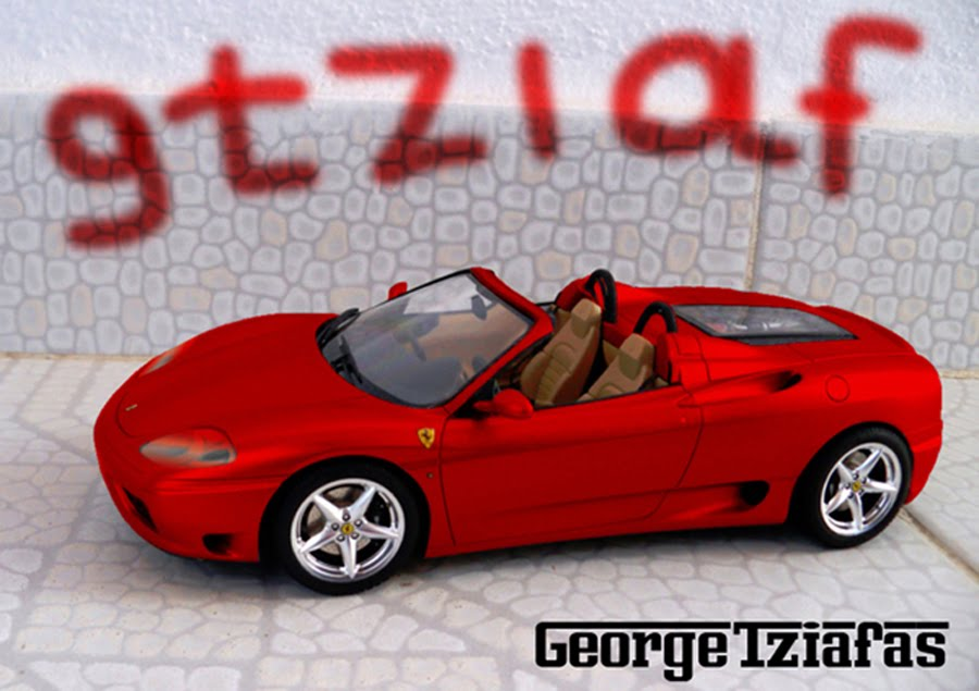 Car Modelling by George Tziafas