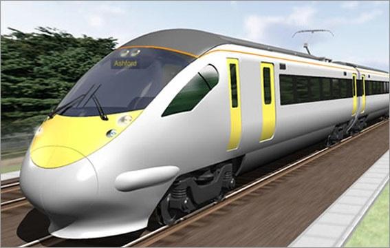 transportasi darat kereta api modern