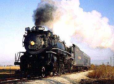 Foto Kereta Api Lokomotif 8