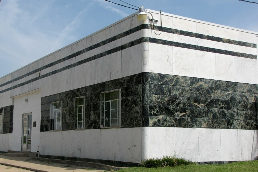 Black Marble Buildings : Historic tulsa midwest marble and tile building