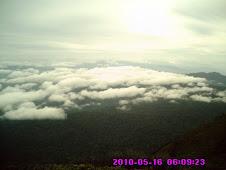 Pemandangan Puncak Gunung