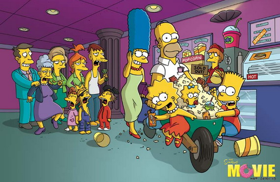 The Simpsons Movie, Photograph