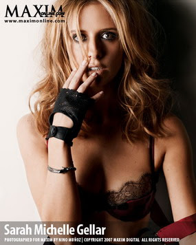 Sarah Michelle Gellar, Maxim Woman of the Year 2007, Photo 04