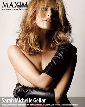 Sarah Michelle Gellar, Maxim Woman of the Year 2007, Photo 06