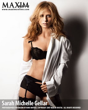 Sarah Michelle Gellar, Maxim Woman of the Year 2007, Photo 09