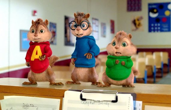 Alvin and the Chipmunks: The Squeakquel, Photograph
