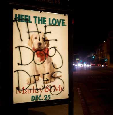 marley and me dog dies. Marley and Me Spoiler!