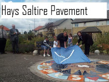 Art Pavement~ Hays Saltire