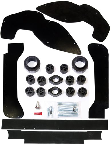 a full suspension lift kit, a Premium Lift System can give your Jeep JK