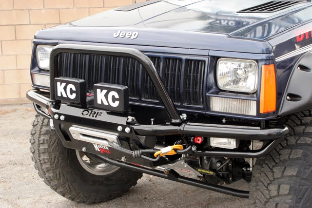 Orfab Blog Or Fab S Jeep Xj Front Bumper Provides A Solid