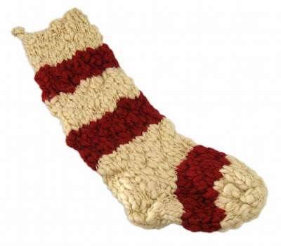Handmade Wool Stocking