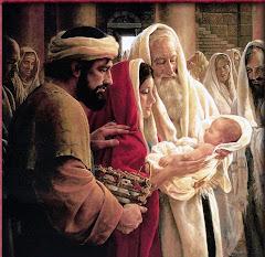 Les nouvelles peinture de la Sainte Famille!