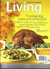 Martha Stewart LIVING Nov 2009