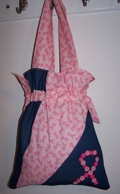 Pretty Pink Breast Cancer Awareness Purse