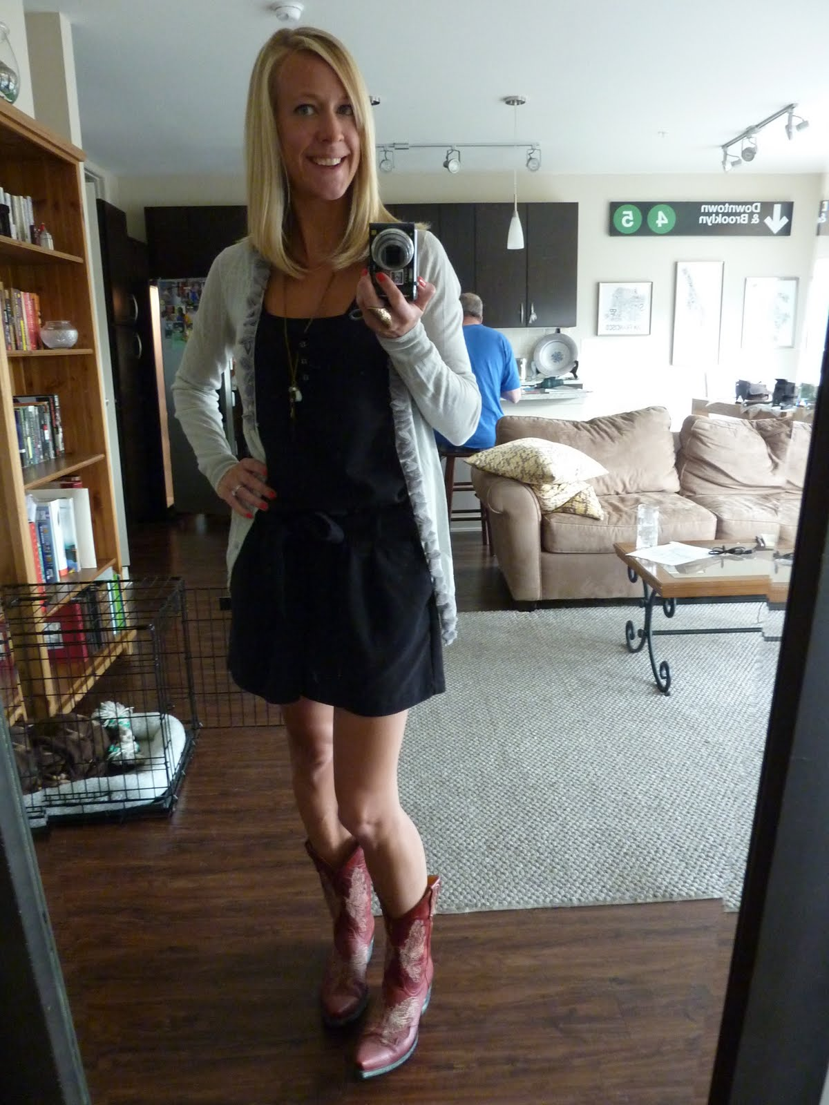paid up top: todays outfit: romping around like a cowgirl