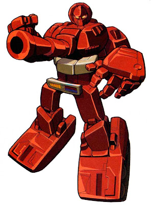 Tragically, the other Autobots never understood Warpath's cosmic battle with Tourette's Syndrome.