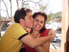 irmão e mãe