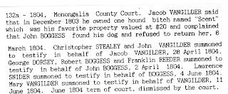 Monongalia County Dog Barking