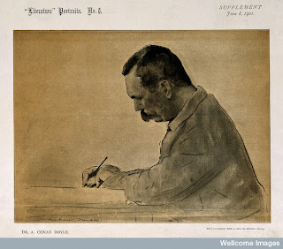 Sir Arthur Conan Doyle: Clues in the Wellcome Library (UK)