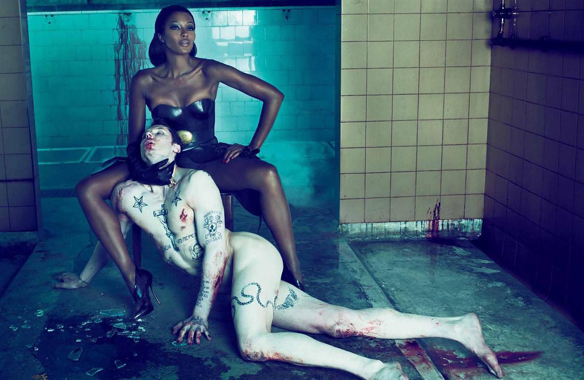 Naomi Campbell y madonna lesbiana