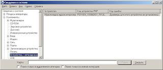 Сведения о системе, msinfo32, msinfo32.exe, Устройства с неполадками