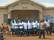 The ICT Club members had saved up to buy Walewale ICT Club T shirts.