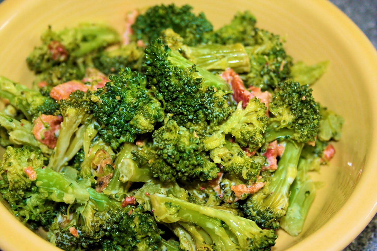 The Wife of a Dairyman ~ Churned in Cali: Say Yes to Broccoli Salad