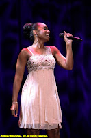 Anika Noni Rose performs during the opening session at the D23 Expo
