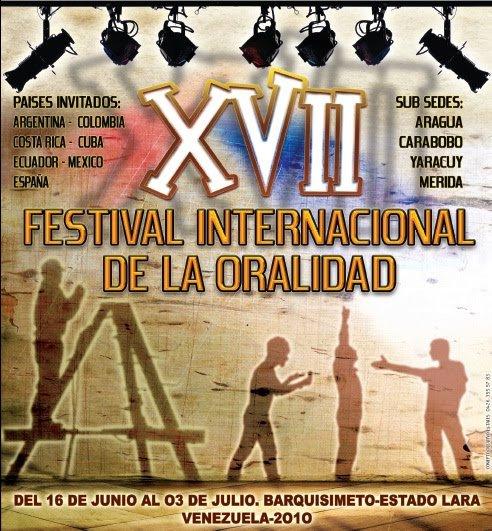 XVII Festival Internacional de Oralidad 2010