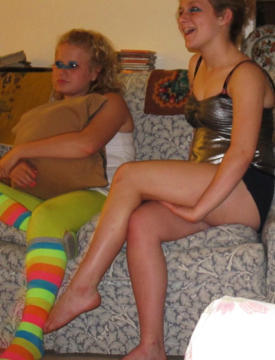 Horny amp hot nerd girl shows off her nude selfie 1