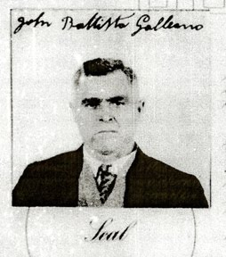 John Galleano - Great Grandfather