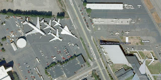 Aerial View of Airpark of Musume of Flight - Seattle